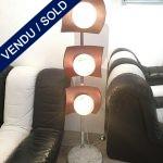Ref : LL348 - Toni Zuccheri – Rare lampe de parquet Murano