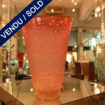 A vase in glass of Murano - SOLD