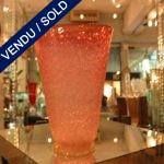 Un vase en verre de Murano - VENDU