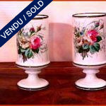 Ref : V009 - Two vases from Old Paris