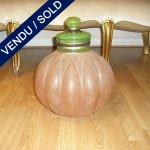 "Closed vase signed ""AMR VIDEA 1182"" , painted by hand - SOLD"
