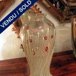 Vase coquelicots signé Zanetti - VENDU